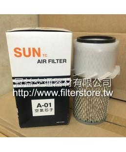 01 空氣芯 空氣過濾器  YT-P121240  AS 5412  FA-1066S