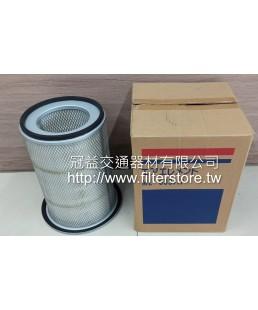 ISUZU 三期 7.8頓 8.7頓 空氣芯 空氣濾清器 (帶盤)  A-6D15 ME033717 JA-540 A-1019 P52-9582 R80-4759
