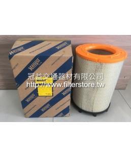 SCANIA P340 P360 新凱P340 新凱P360 梅花型及8個圓柱 空氣芯 空氣濾清器 E1013L C31014 1869993 P77-8335 FA-2161