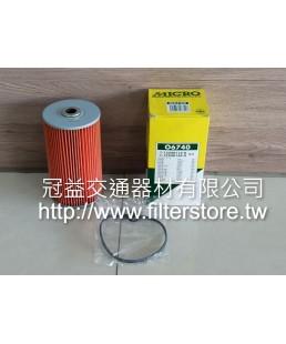 ISUZU 340馬 360馬 370馬 6WA1 V10 機油芯 機油濾清器 (小) 1-13240-116 O-6740 116