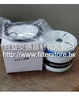 FORD L455 553 福特山貓 小型鏟土機 柴油芯柴油濾清器 CAV296 FF167A BFC-1101 7111-296