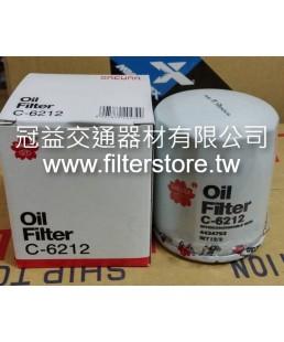 TOYOTA 7F 堆高機 機油芯 機油濾清器 (短 )O-90915-03002 W712/2 BO-111 NE-111A CO-712/2 C 6212