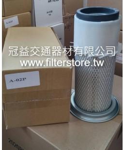 小松 10型 堆高機 空氣芯 空氣濾清器 (帶盤) A-02P
