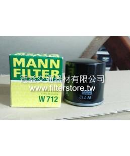 TOYOTA 7F 堆高機 機油芯 機油濾清器 (短) O-90915-03002 W712/2 CO-712/2 C-6212 C-1148 O-1637 C-171 CO-111 T-1637