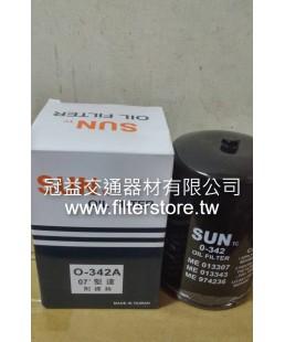 新堅達4M40 4D33 4D34  機油芯 機油濾清器 ME013307 KU-5816 C-1012 O-342A ME013343 ME215002 ZS215002