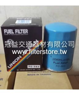 FUSO 巴士 240 6D17  柴油芯 柴油濾清器  ME035393 ME015254 FT-7231 FC-1003 FC-353