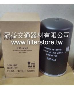 FUSO 6D16 三菱扶桑 機油芯 機油濾清器 ME074013 FO-223 C-1007 O-341 C-370-1