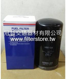 FUSO 350馬 三菱扶桑 柴油芯 ME150631 6D24T 6D40   FC-1008