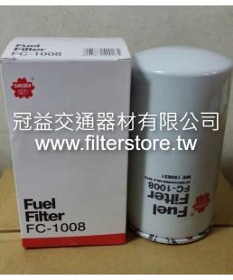 FUSO 巴士 320 350 6D24  柴油芯 柴油濾清器 ME150631 6D24T 6D40 FC-1008