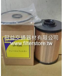 FUSO 6M60 三菱扶桑 柴油濾芯 四期 ME306306 JF-596 EF-1002