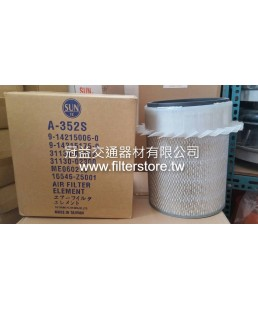 FUSO 6D20 三菱扶桑 空氣芯 空氣濾清器 TX13T MS180 P52-9602