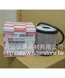 FUSO 6M60 三菱扶桑 四期 五期 廢氣芯子 ME302763 8-97606318-0 ZS302763 EFG-1002 GE-3646 FAO-0010